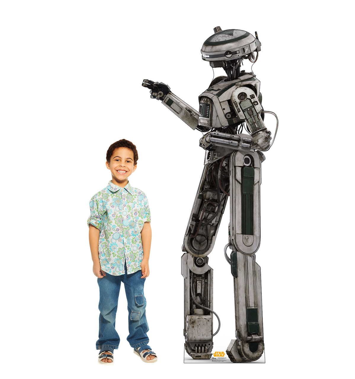 L3-37™  Life size cardboard cutout with model