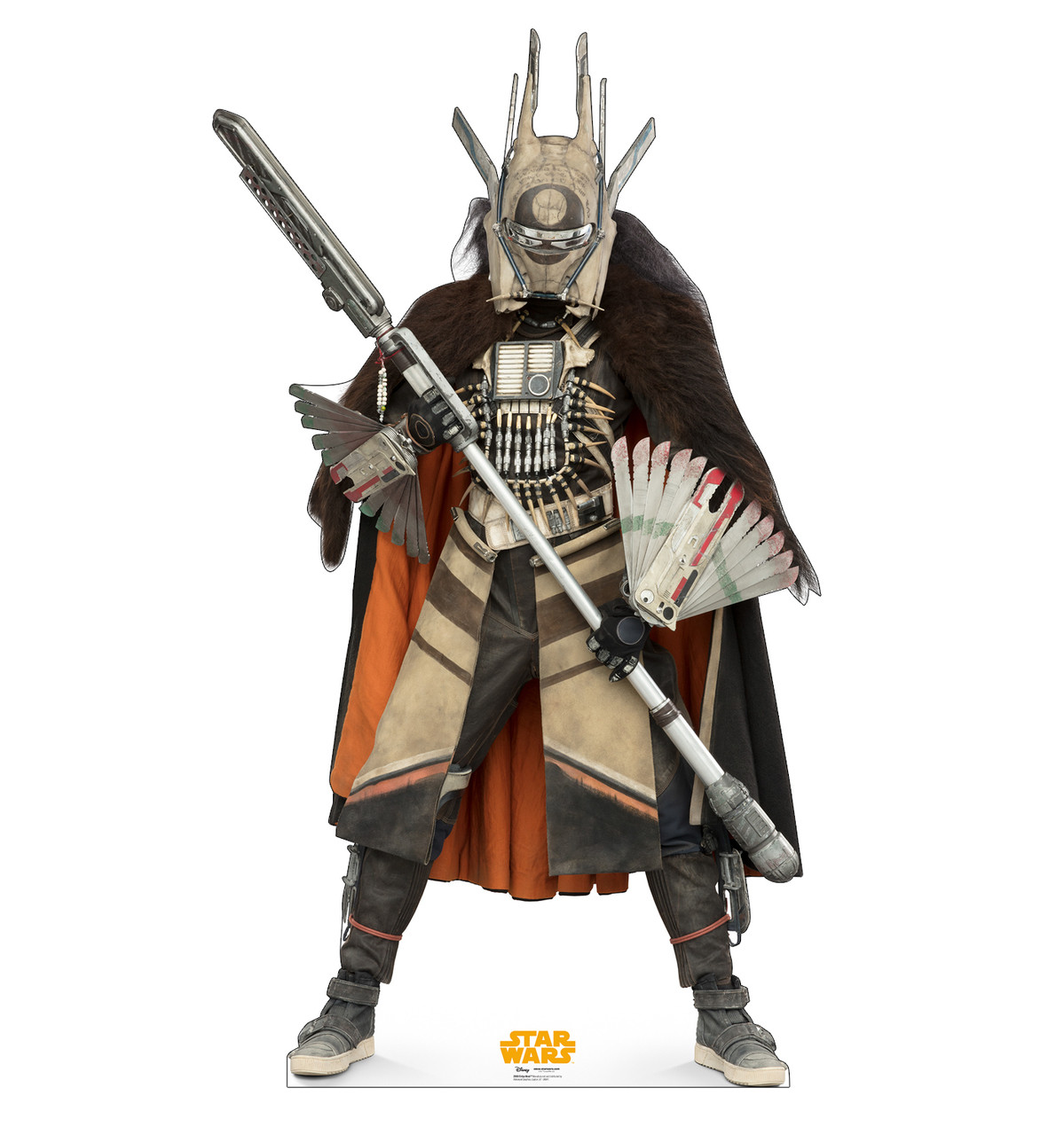 Enfys Nest™ Life-size cardboard standee front.