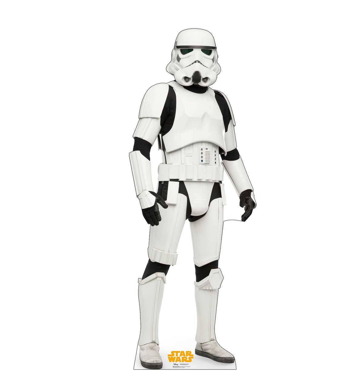 Stormtrooper™ Life-size cardboard standee front.