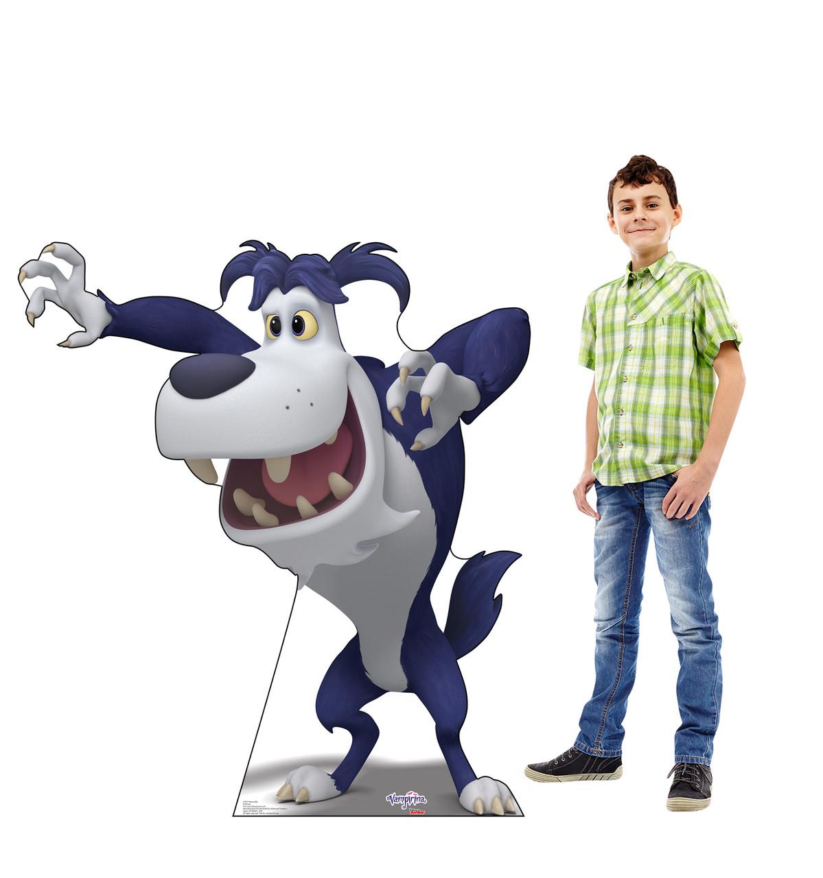 Werwolfie Life-size cardboard standee with model