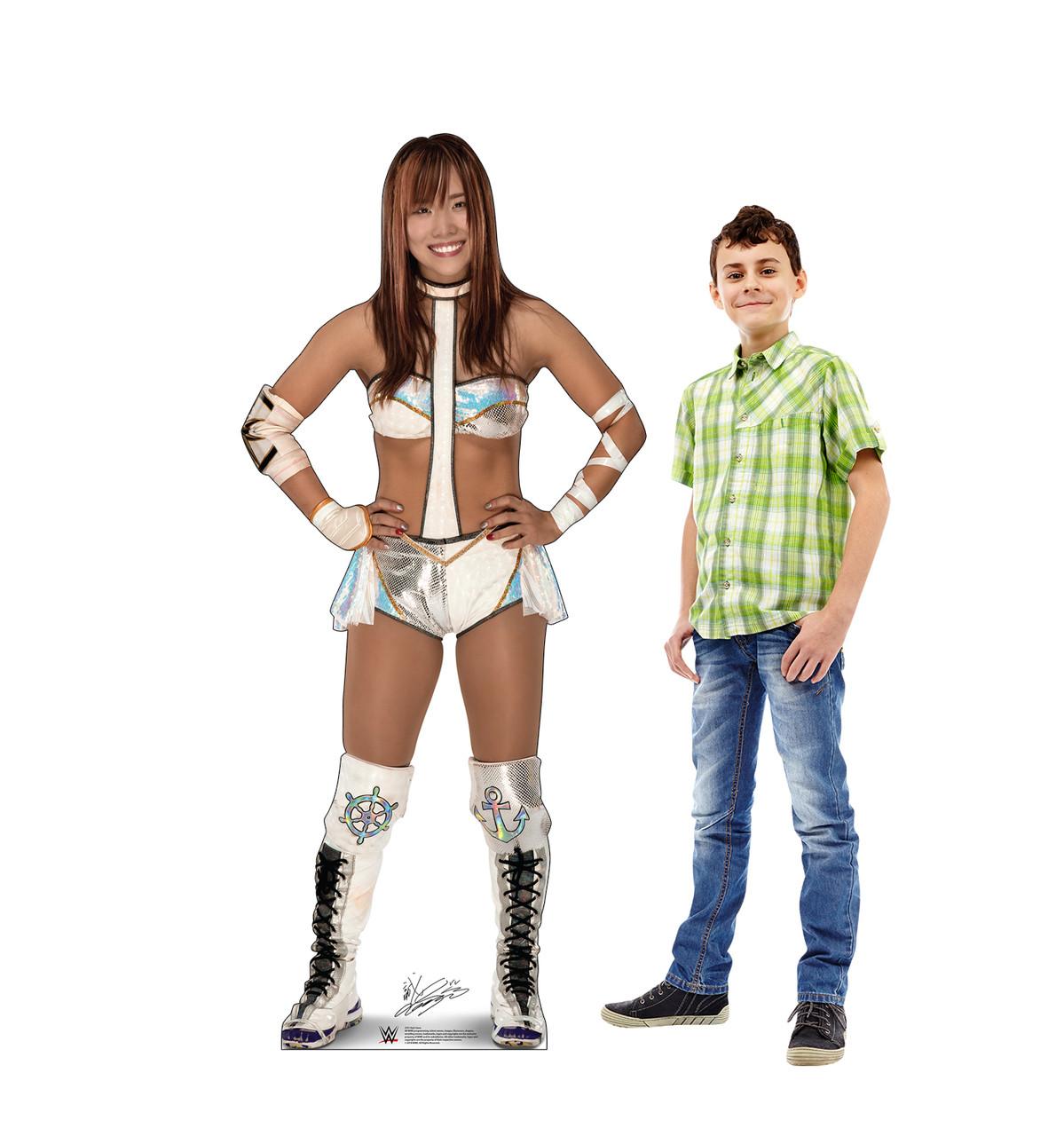 Kairi Sane Life-size cardboard standee with model.