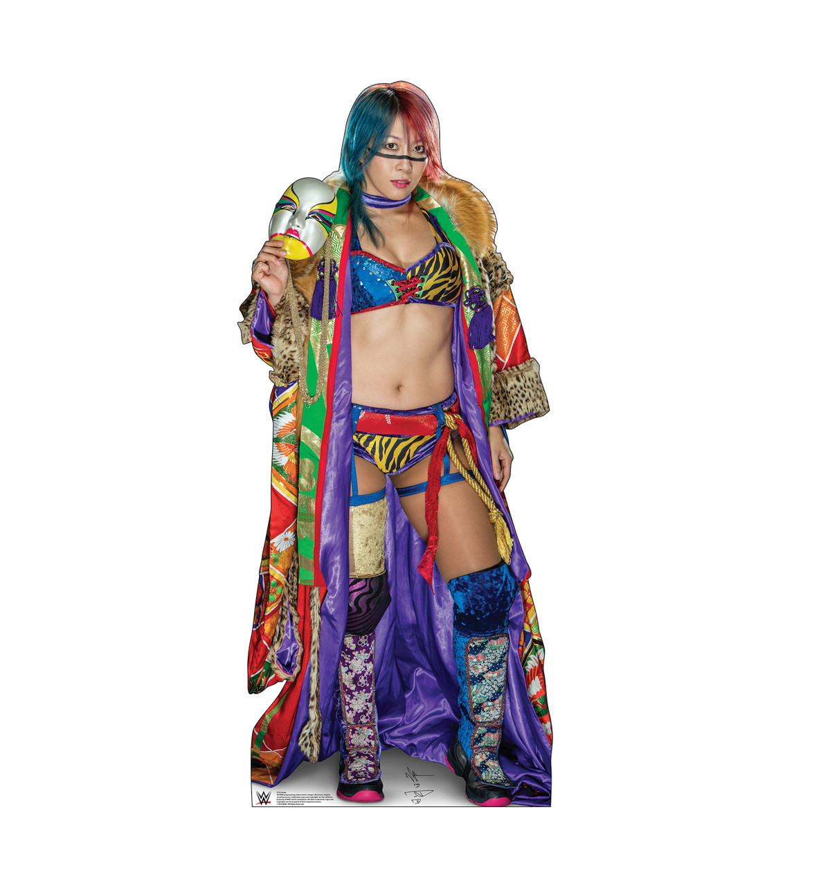 Asuka Life-size cardboard standee front.
