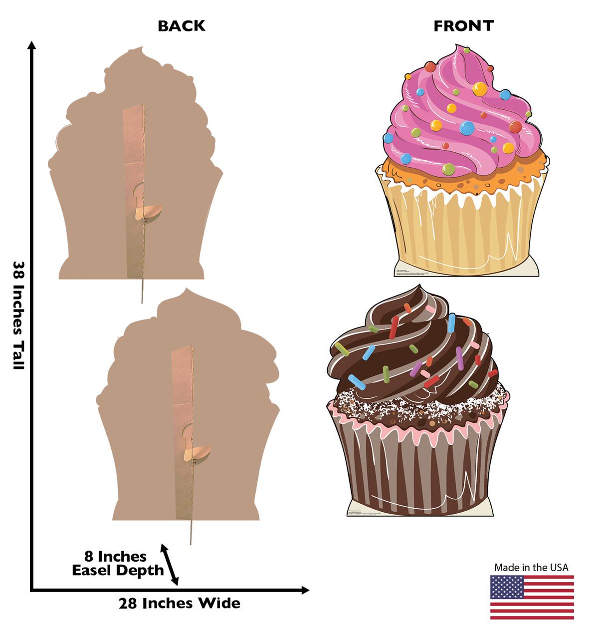 Cupcakes Cardboard Cutout  2749