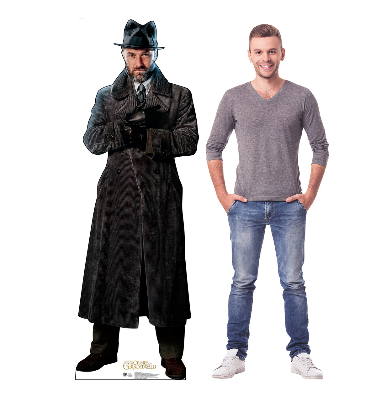 Dumbledore Lifes-size Cardboard Standee with Model.