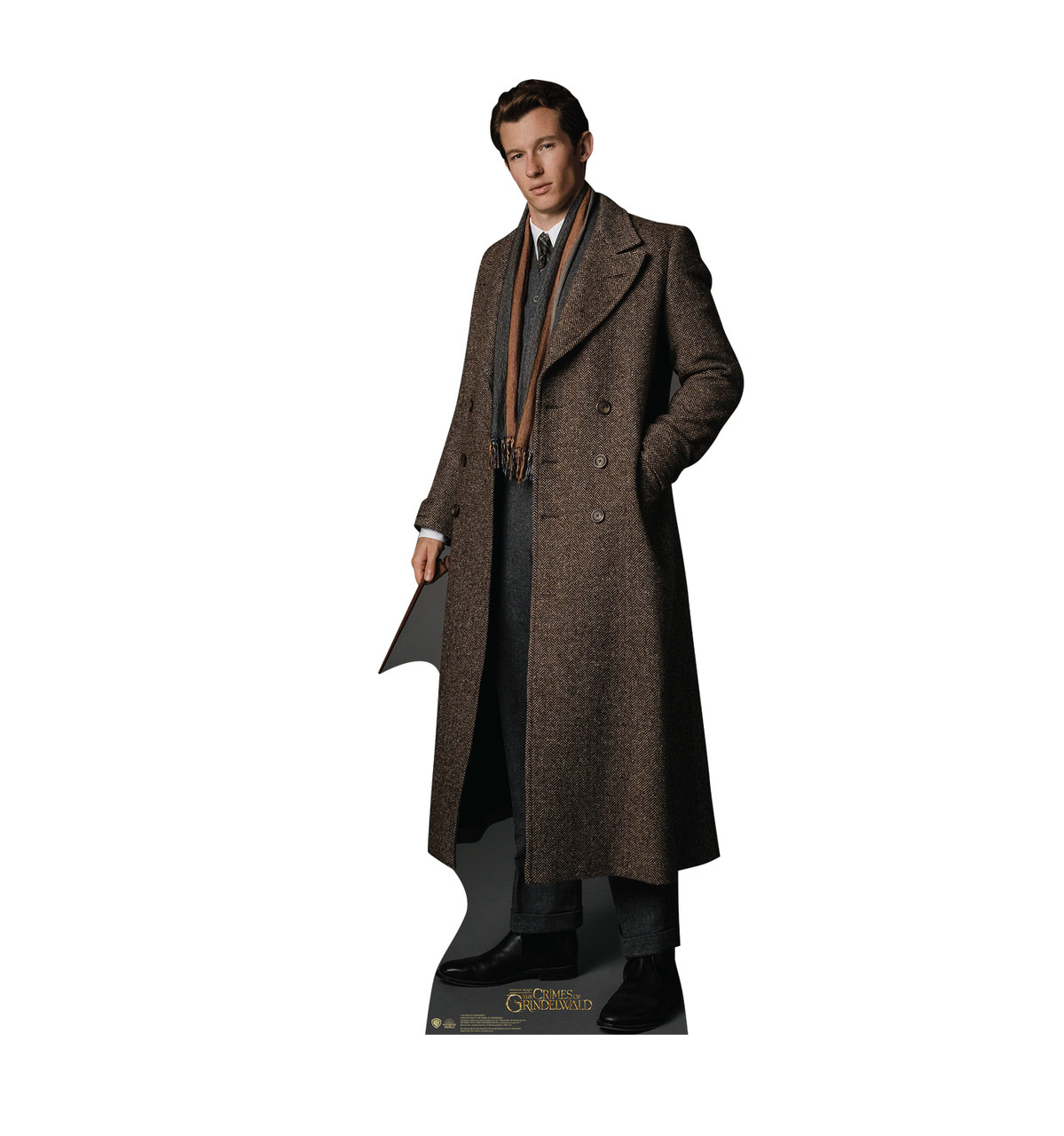 Theseus Scamander Lifes-size Cardboard Standee.