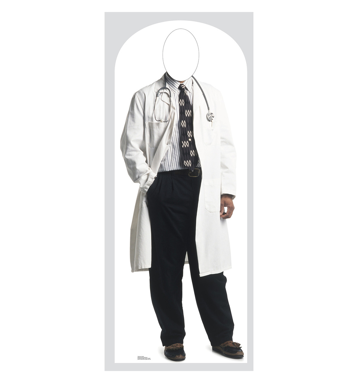 Life-size Doctor Stand-in Cardboard Standup | Cardboard Cutout
