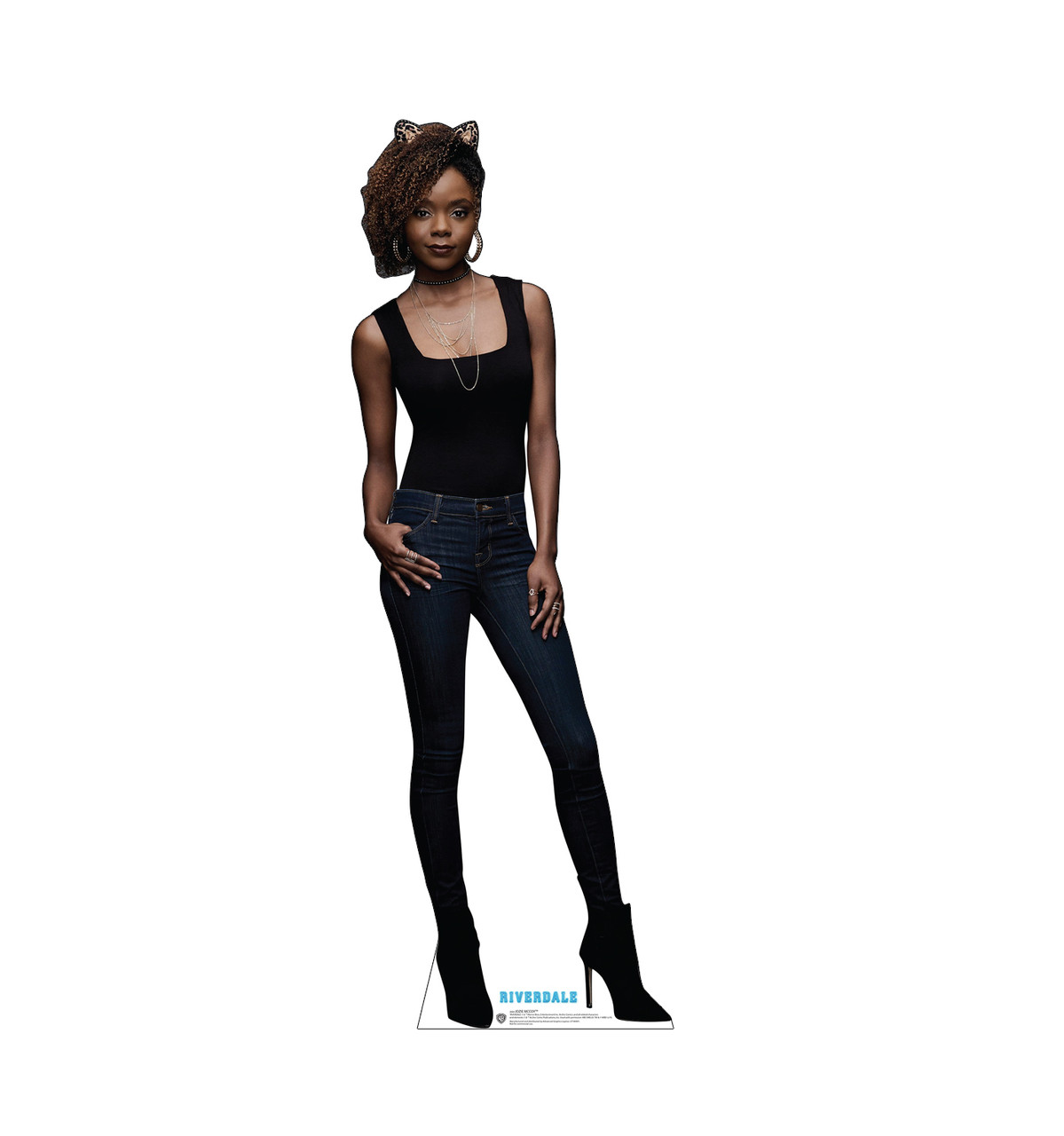 Life-size cardboard standee of Josie McCoy from the TV Series Riverdale.