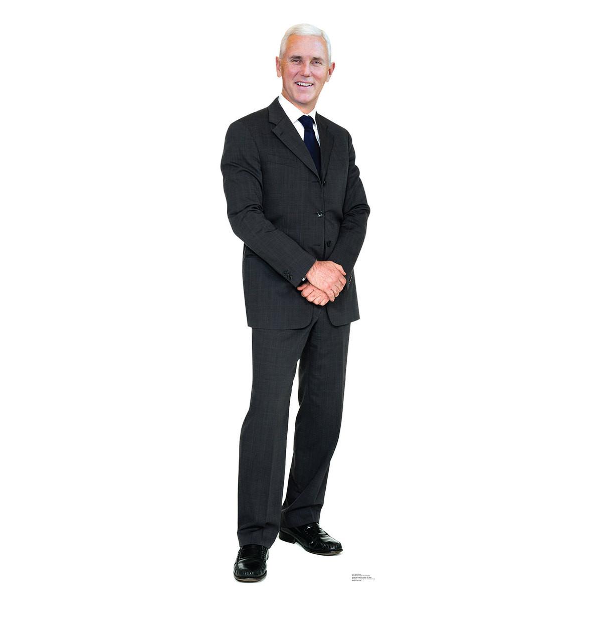 Life-size Vice President Mike Pence Cardboard Standup | Cardboard Cutout 2