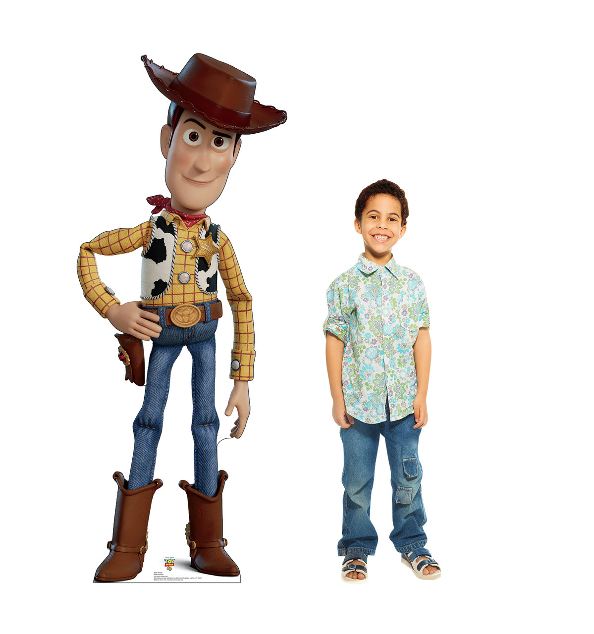Woody - Toy Story 4 Cardboard Cutout Lifesize