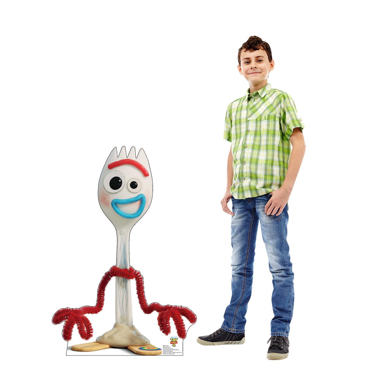 Forky - Toy Story 4 Cardboard Cutout Lifesize
