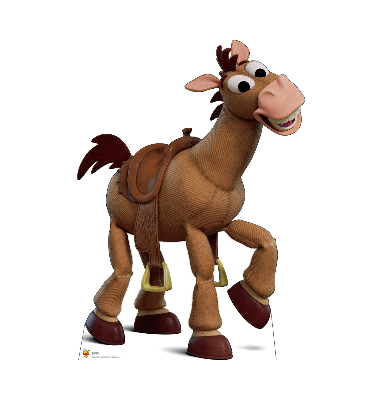 Bullseye - Toy Story 4 Cardboard Cutout Front View