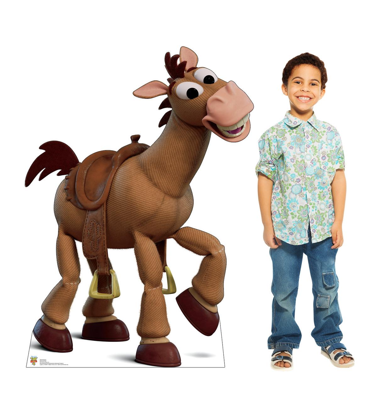 Bullseye - Toy Story 4 Cardboard Cutout Lifesize