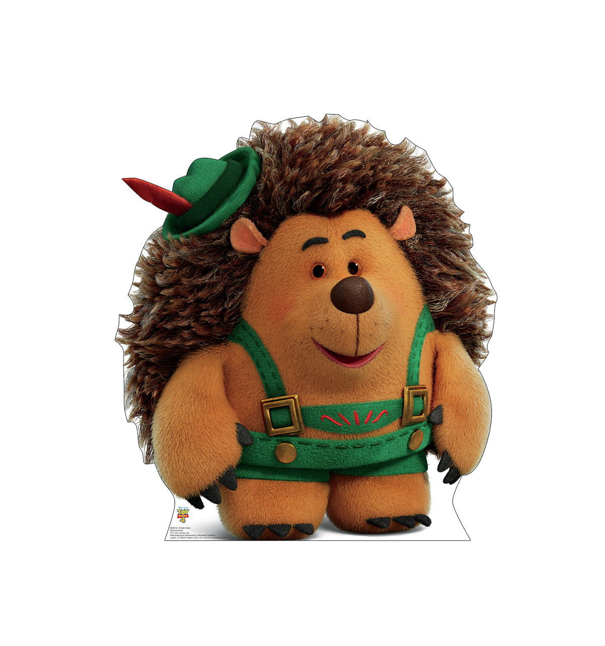 Mr Prickle Pants - Toy Story 4 Cardboard Cutout Front View