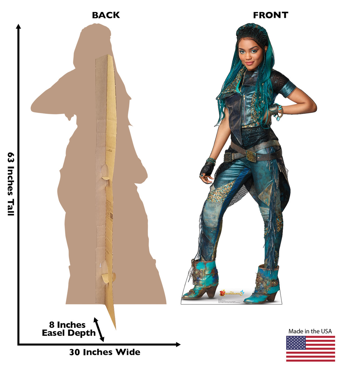 Uma - Disney's Descendants 3 Cardboard Cutout  2916