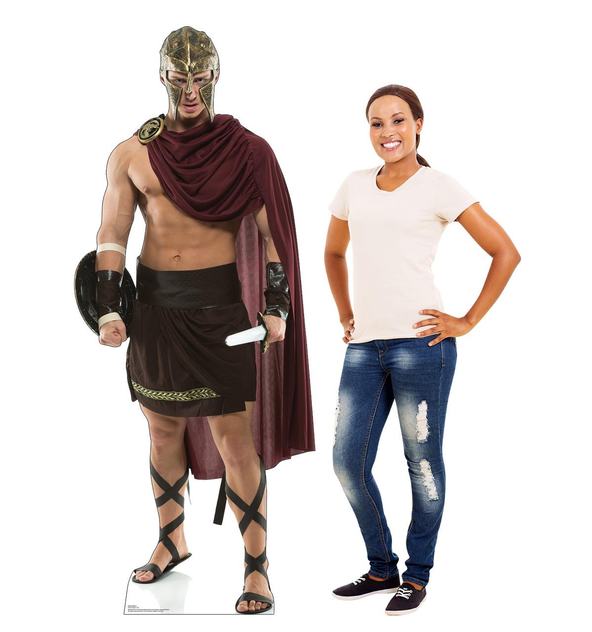 Life-size cardboard standee of a Gladiator Lifesize