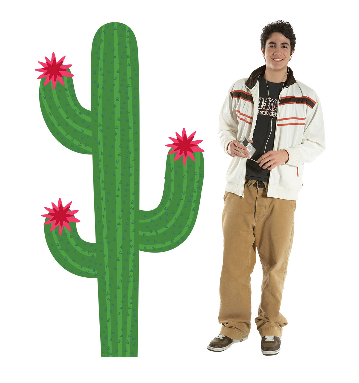 Life-size cardboard standee of a Cactus Lifesize