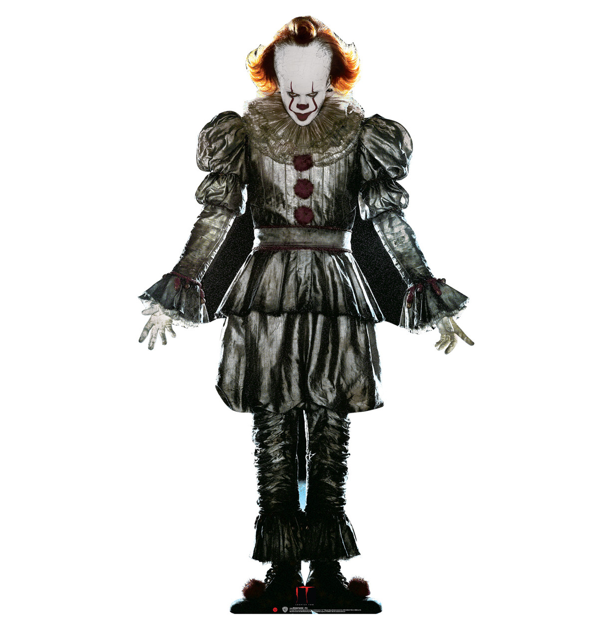 Pennywise from IT Chapter 2 Movie 2019 Cardboard Front View