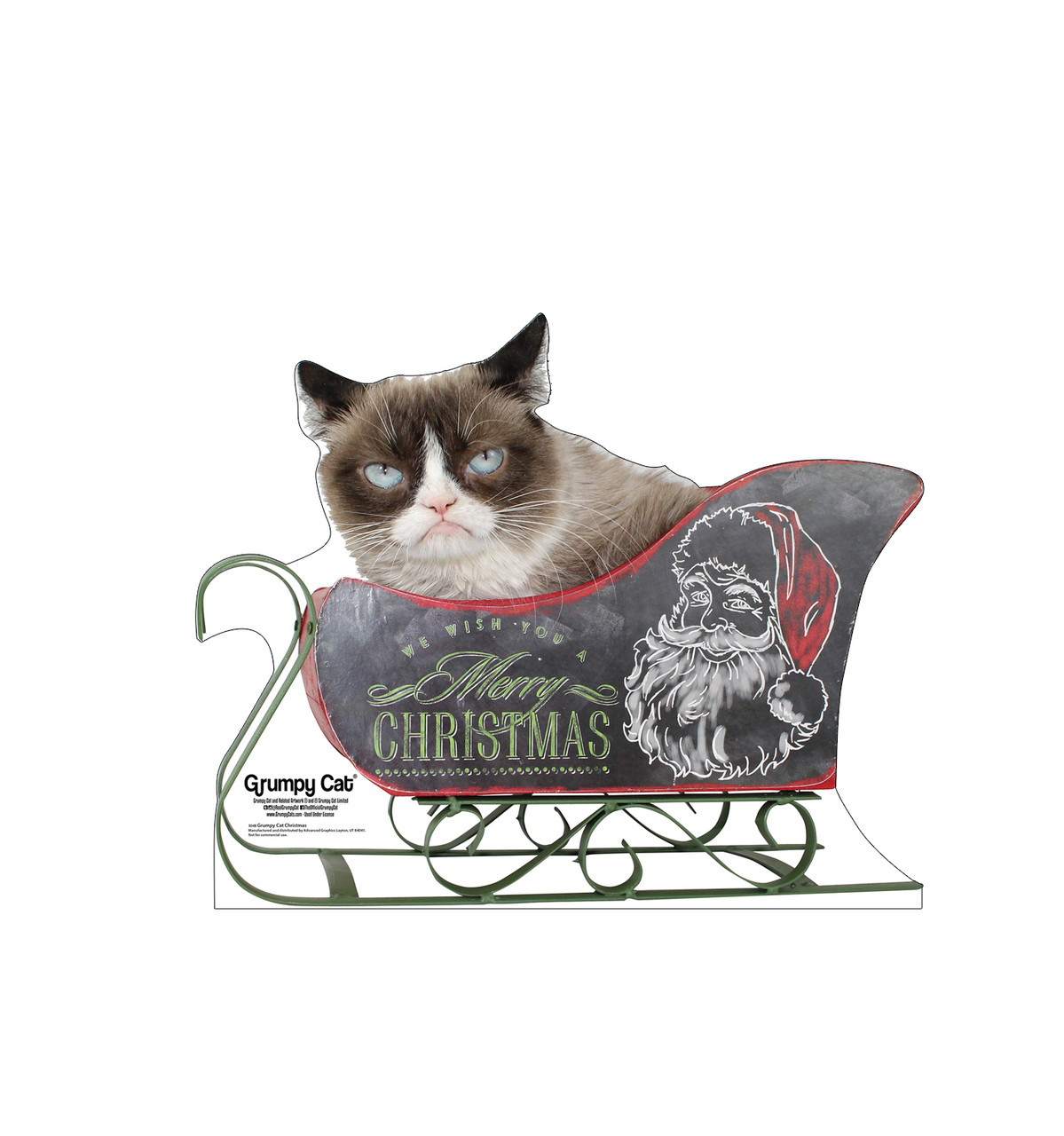 Grumpy Cat - Christmas 3048
