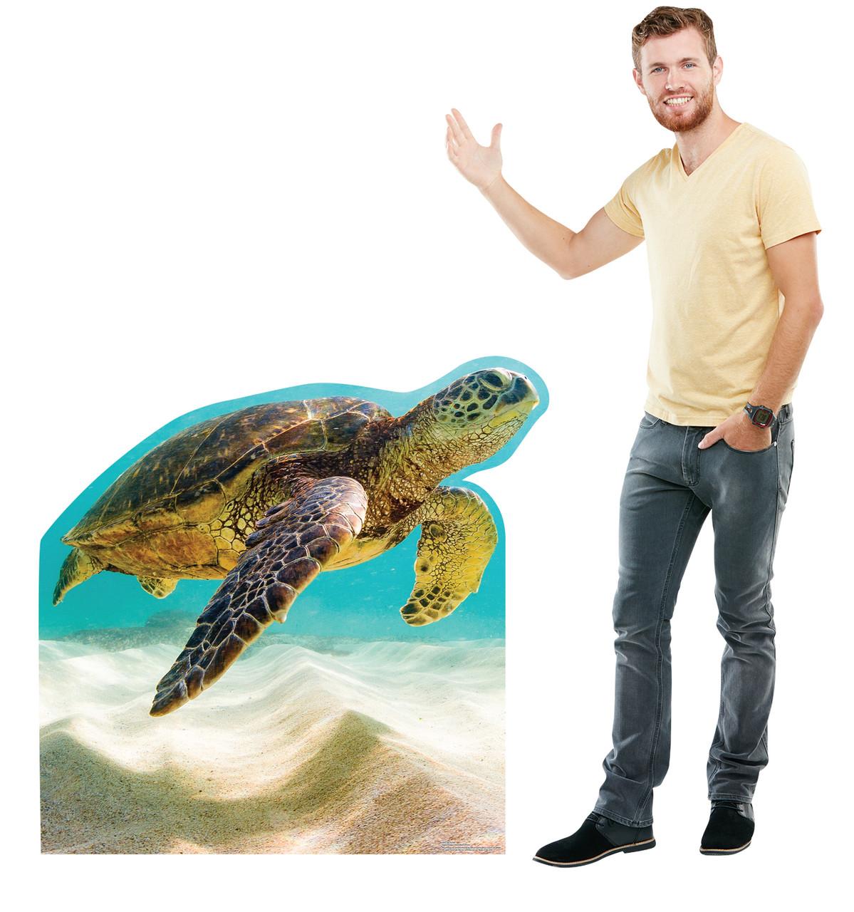 Sea Turtle Cardboard Cutout 3053