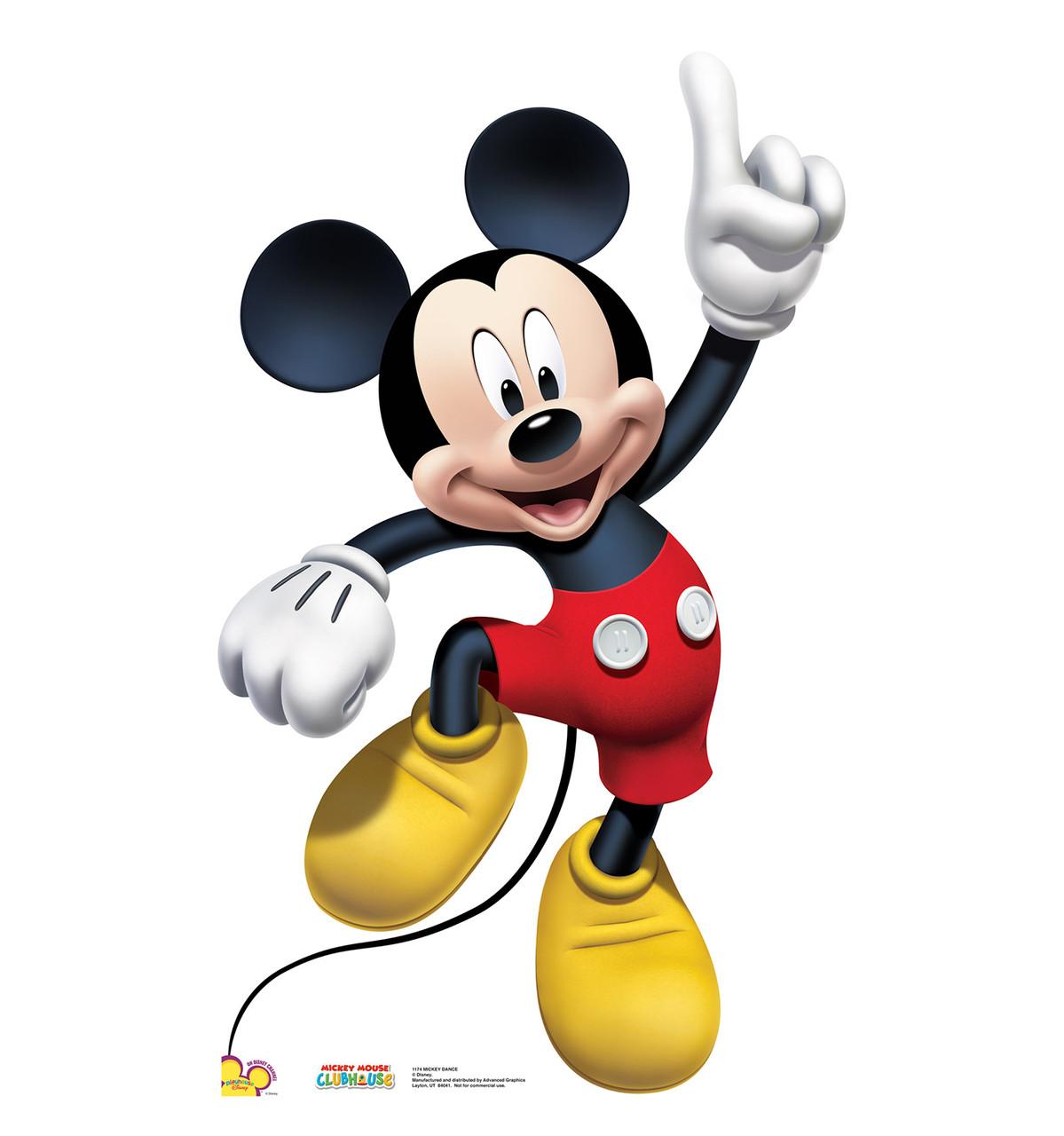 Life-size Mickey Dance Cardboard Standup | Cardboard Cutout