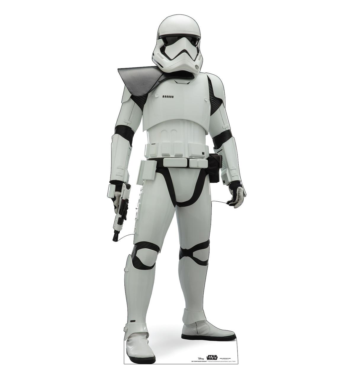 Life-size cardboard standee of Stormtrooper Sergeant™ (Star Wars IX).