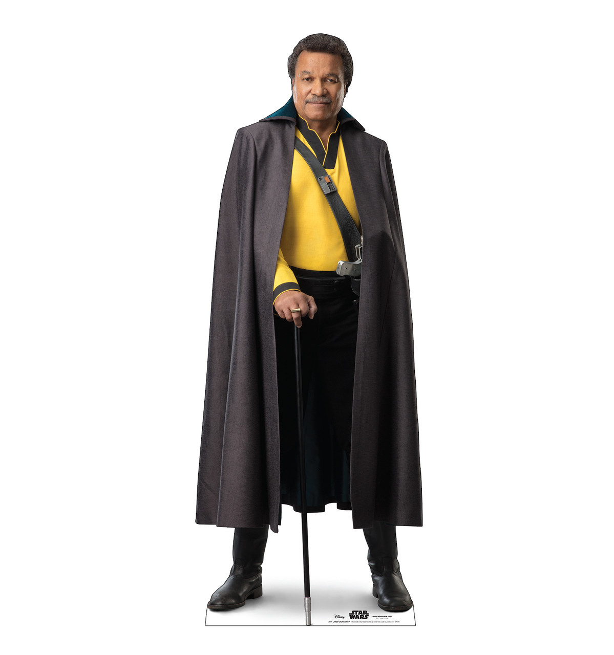 Life-size cardboard standee of Lando Calrissian™ (Star Wars IX).