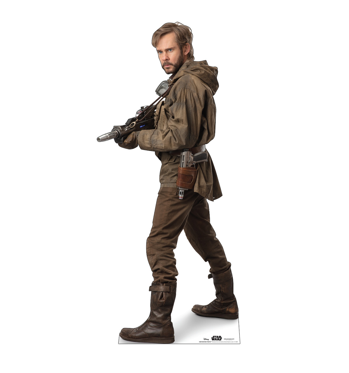 Life-size cardboard standee of Resistance Trooper™ (Star Wars IX).