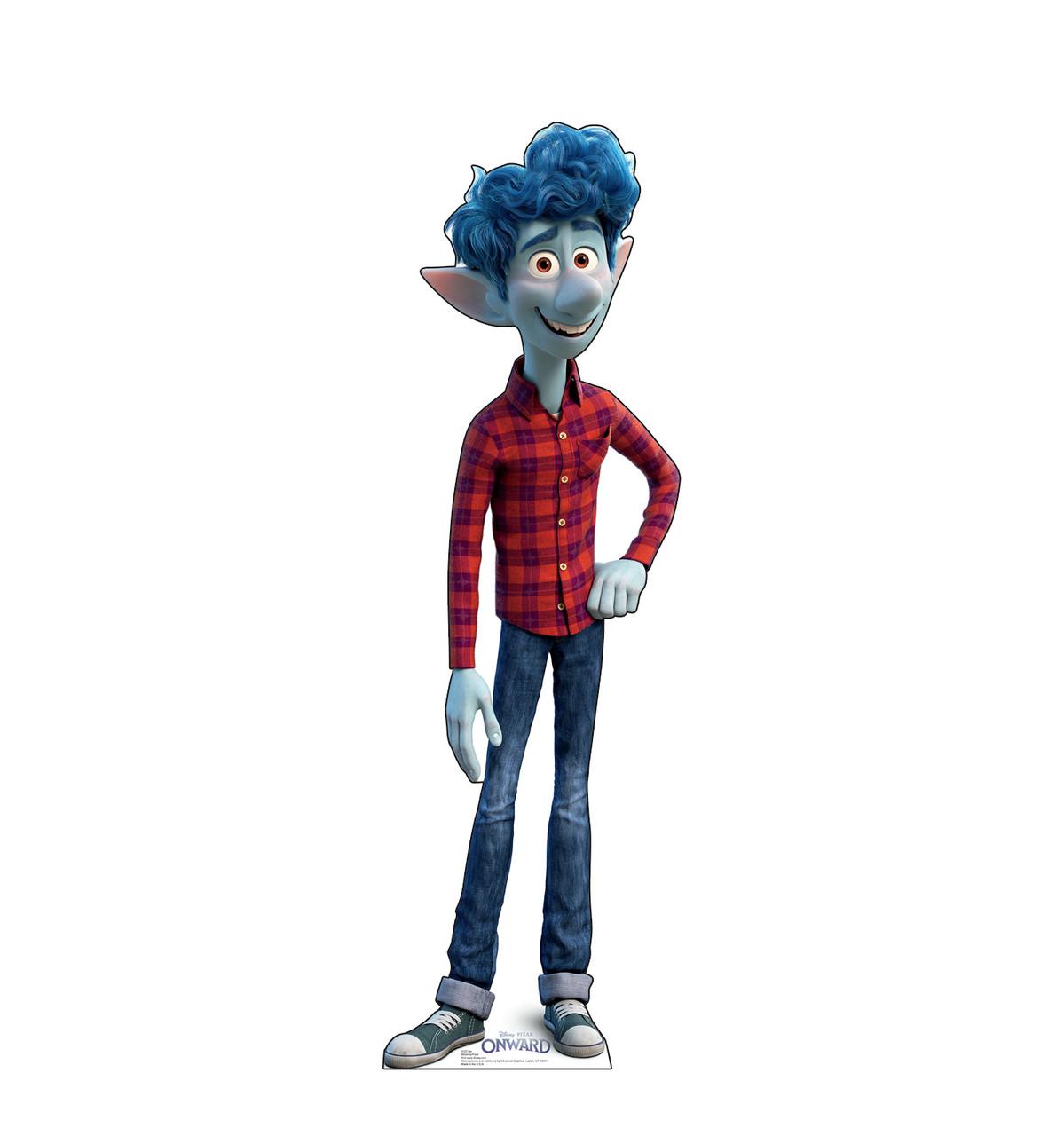 Life-size cardboard standee of Ian from Disney/Pixar's film Onward.