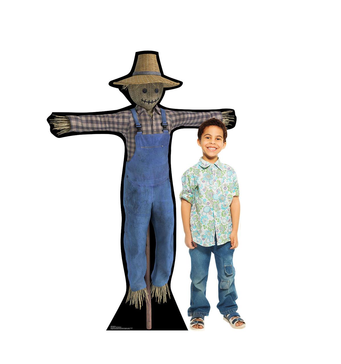 Life-size Scarecrow 1 Cardboard Standup | Cardboard Cutout 2