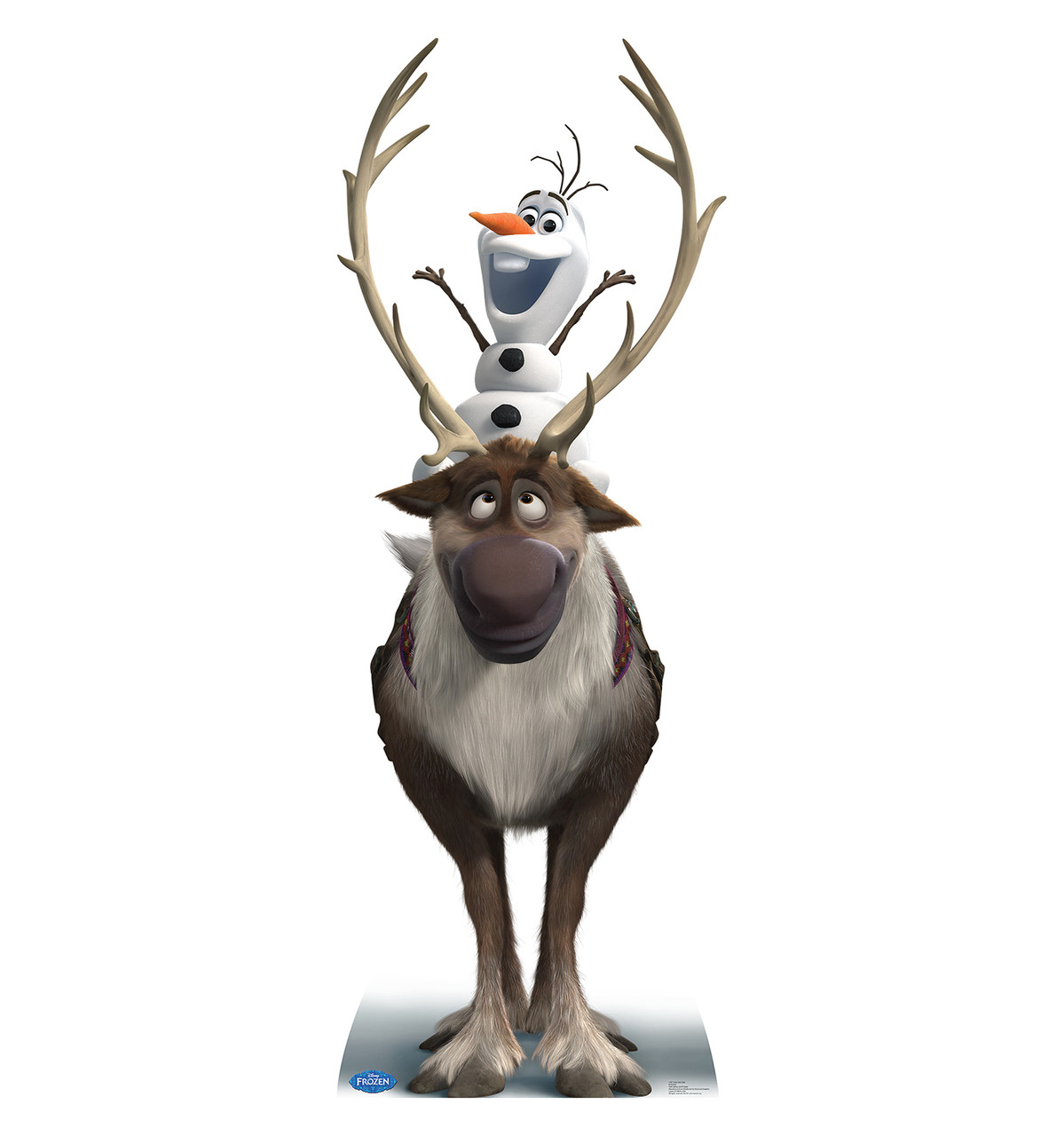 Sven and Olaf - Disney's Frozen-Cardboard Cutout