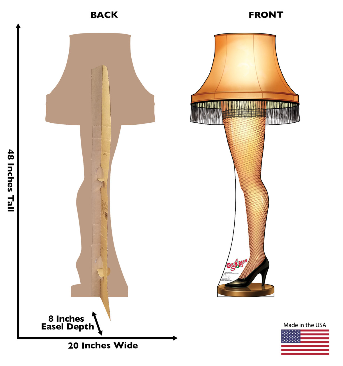 Life Size Leg Lamp