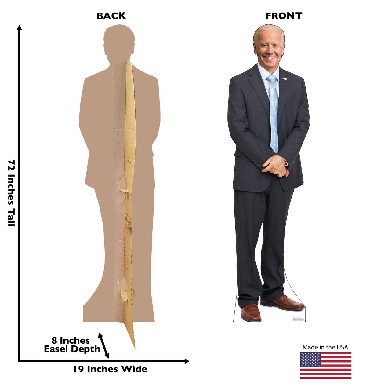 N/&M Products Joe Biden Life Size Cutout Pop Up Cardboard Cut Out