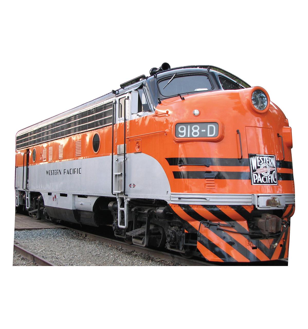 WP 918D Train Cardboard Cutout
