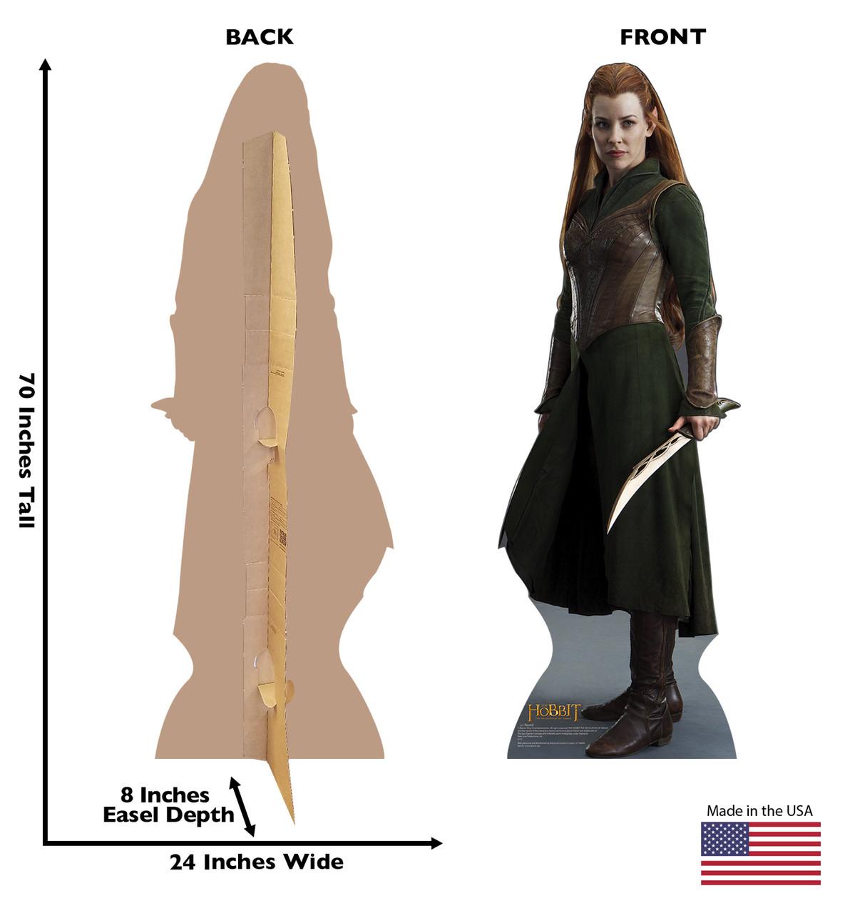 Life-size Tauriel Cardboard Standup | Cardboard Cutout