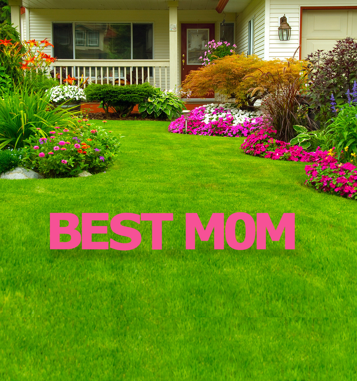 Coroplast Best Mom Yard Signs