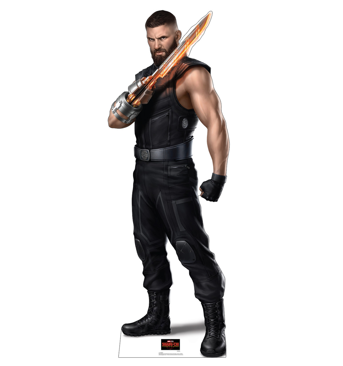 Life-size cardboard standee of Razor from Shang-Chi and the Legends of the Ten Rings from Marvel Studios.