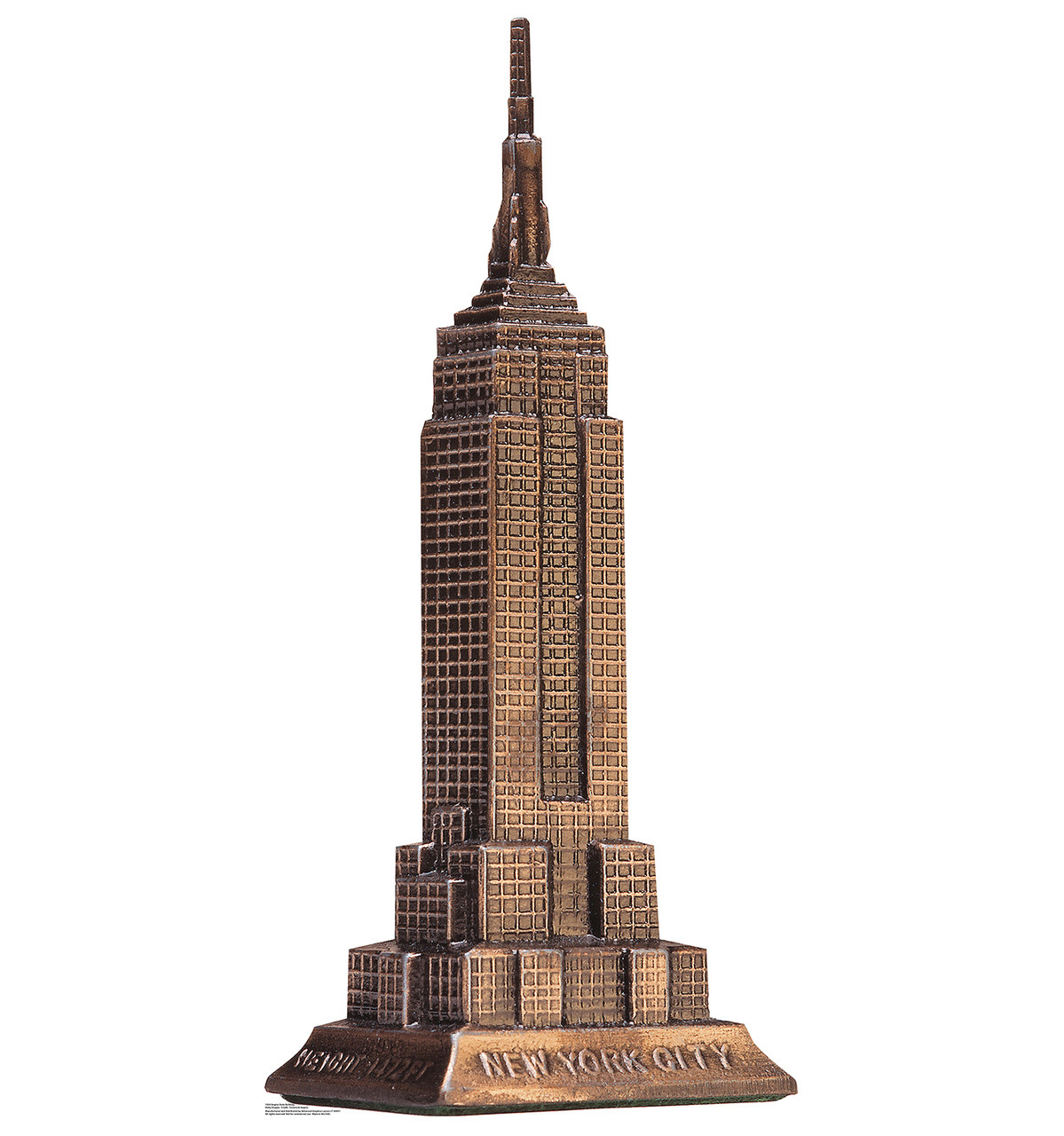 Life-size Empire State Building Cardboard Standup | Cardboard Cutout
