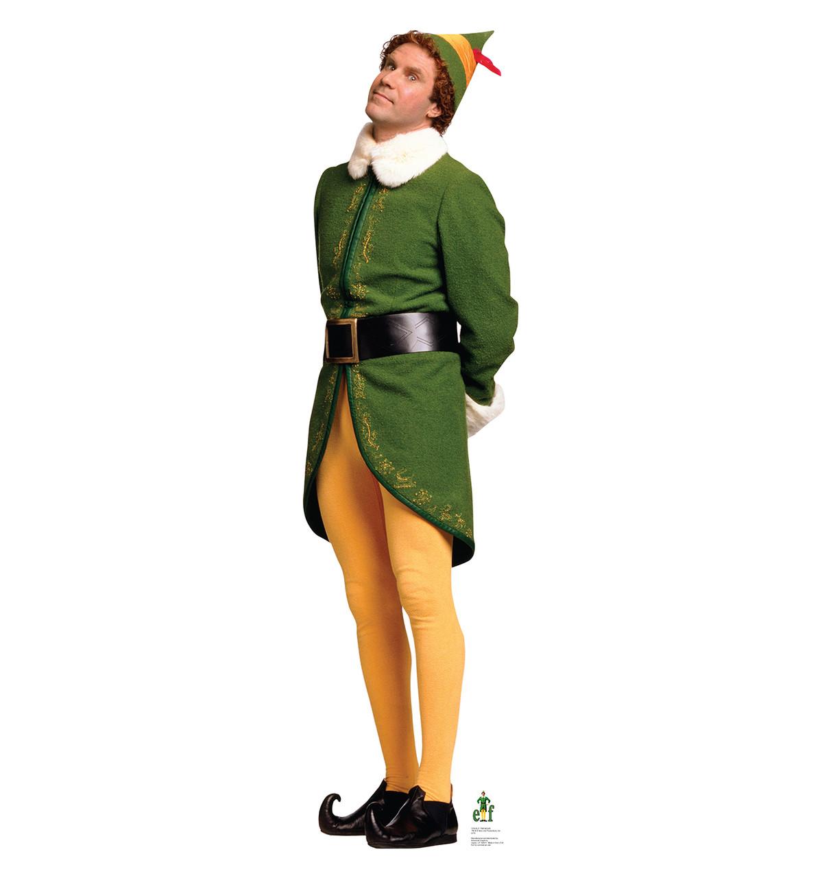 Life-size Concerned Buddy - Elf Cardboard Cutout Will Ferrell