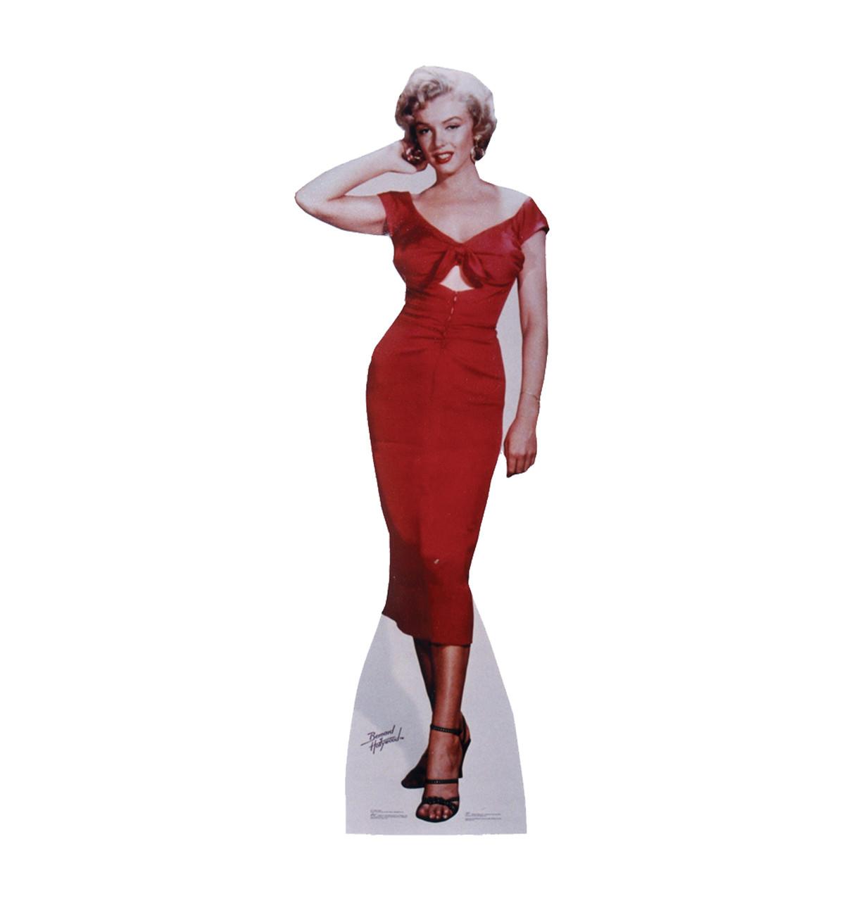 Life-size cardboard standee of Marilyn Monroe Niagara.