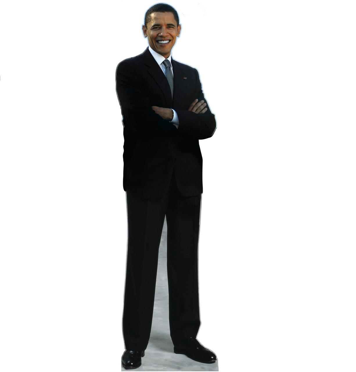 President Obama Cardboard Cutout - 739