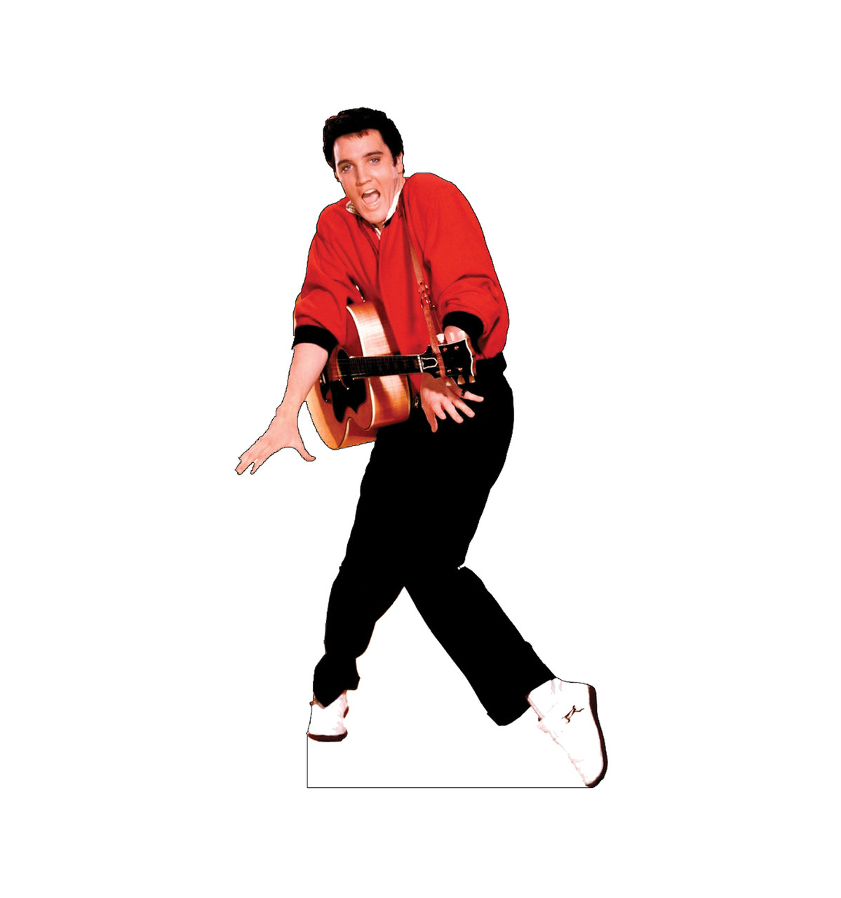Elvis Presley - Red Jacket Cardboard Cutout 376