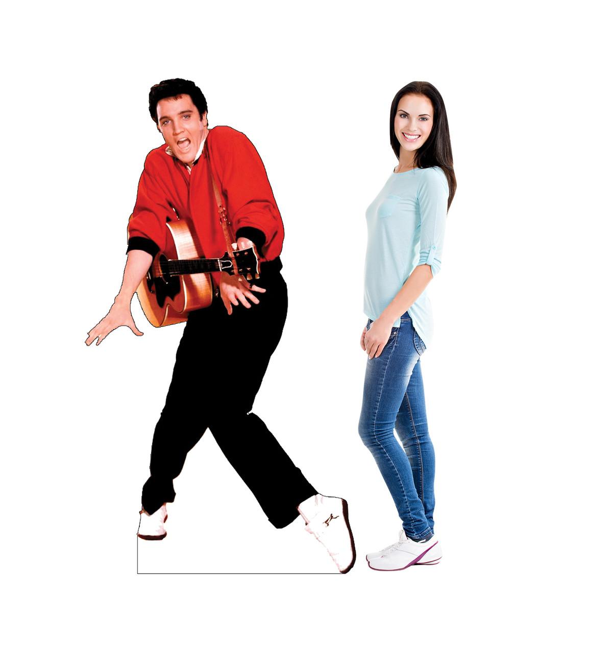 Elvis Presley - Red Jacket Cardboard Cutout 376