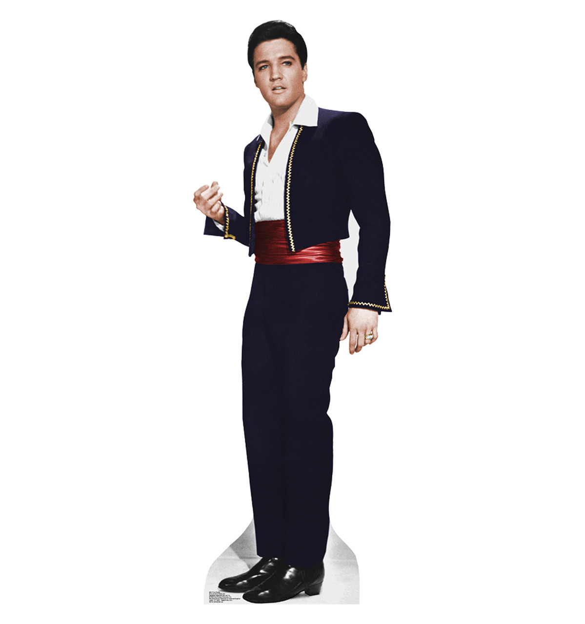 Elvis Matador Talking Cardboard Cutout 841T