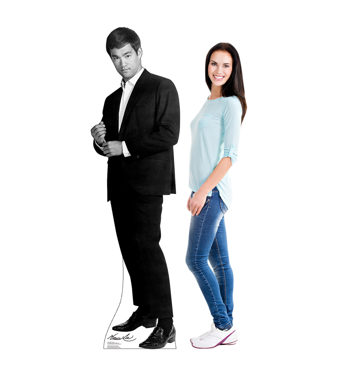Bruce Lee Suit Cardboard Cutout 1515