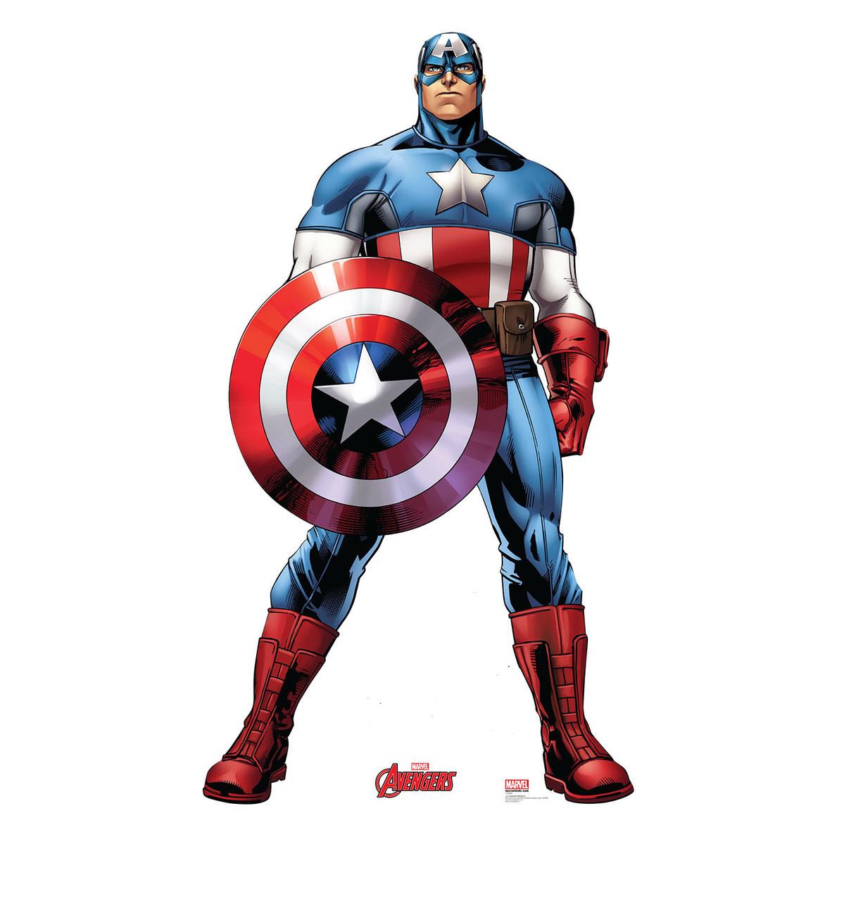 Life-size Captain America Cardboard Standup | Cardboard Cutout 2