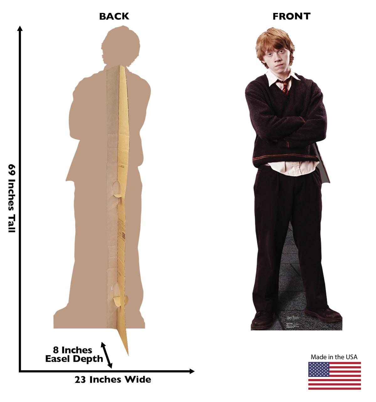 Life-size Ron Weasley Cardboard Standup   Cardboard Cutout