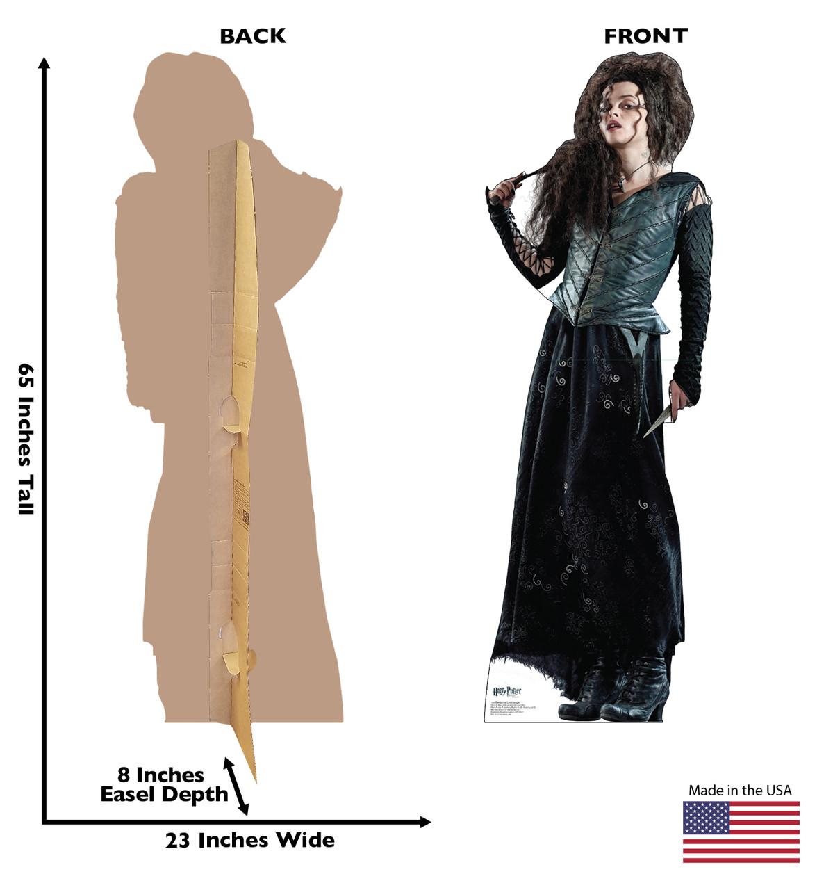 Life-size Bellatrix Lestrange Cardboard Standup | Cardboard Cutout