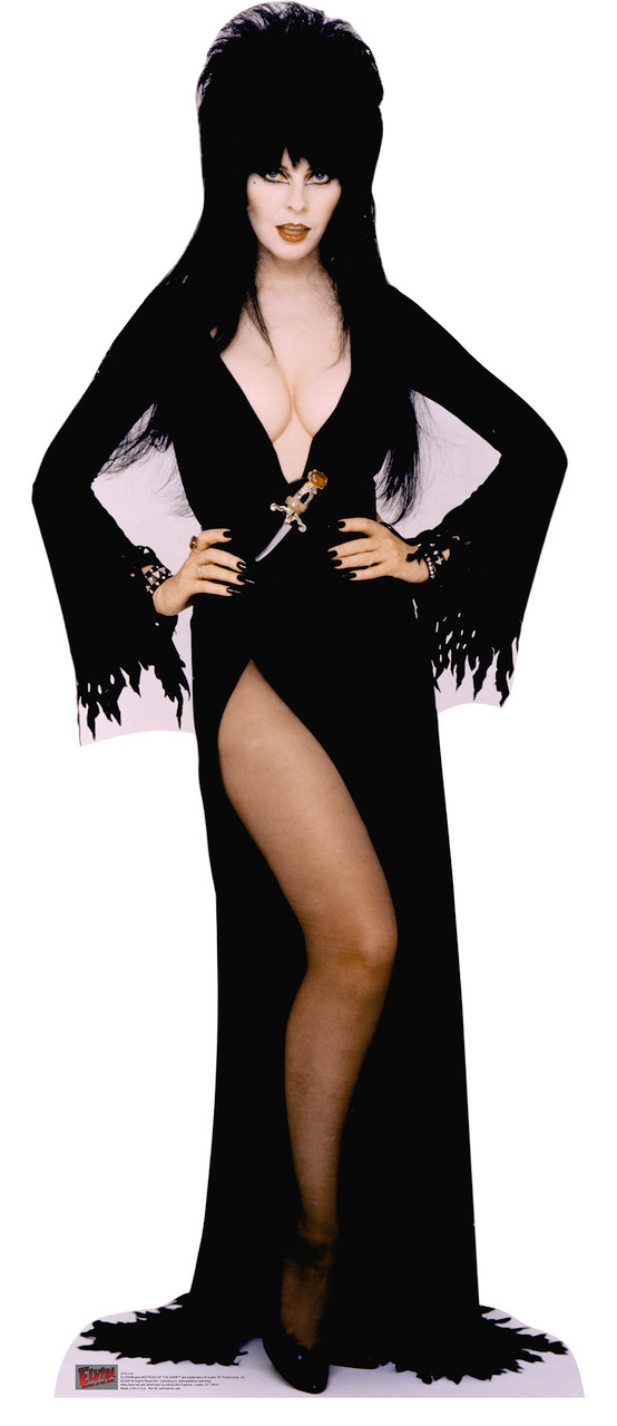 Elvira - Talking - Cardboard Cutout