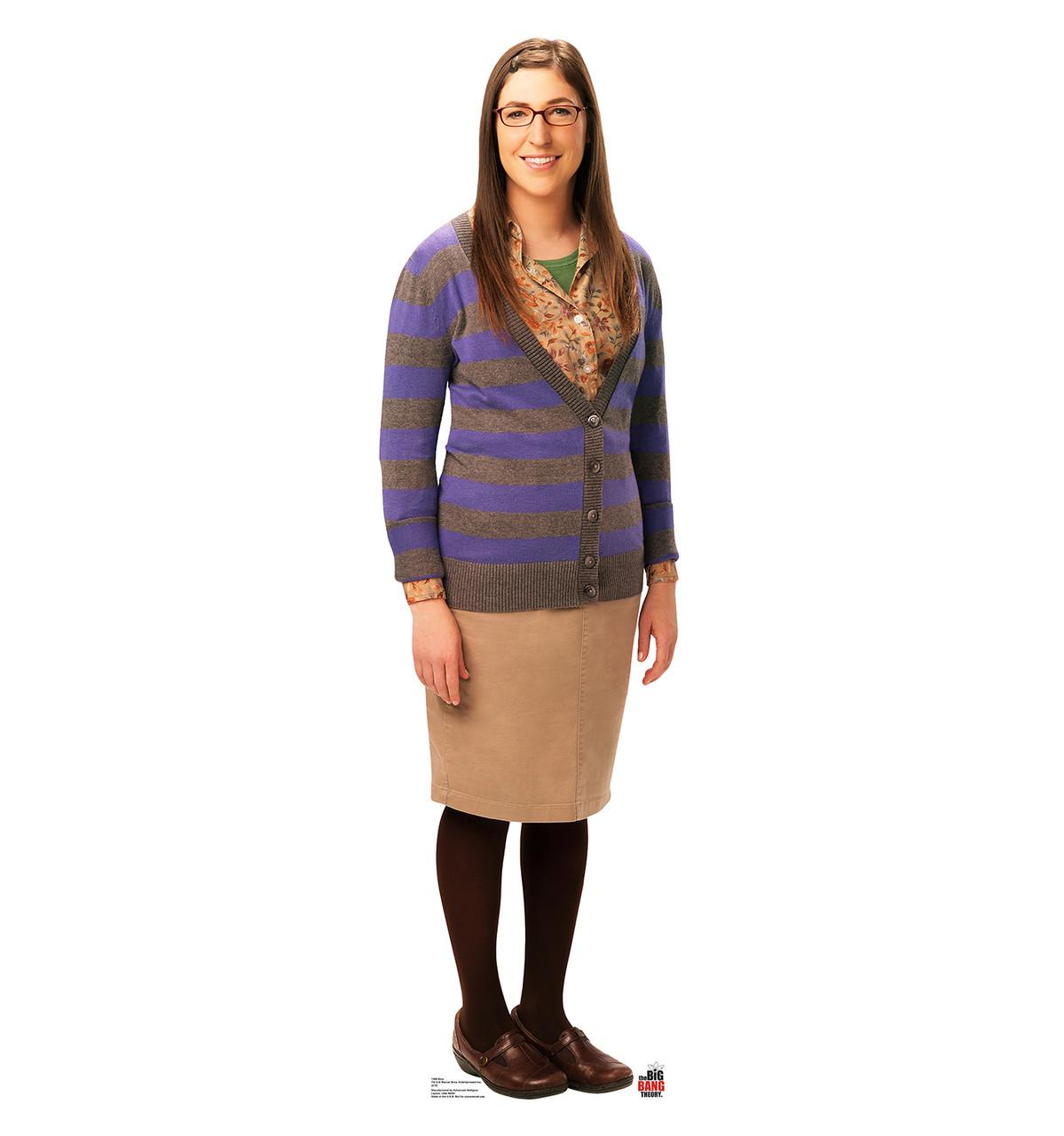 Amy - Big Bang Theory - Cardboard Cutout Front View