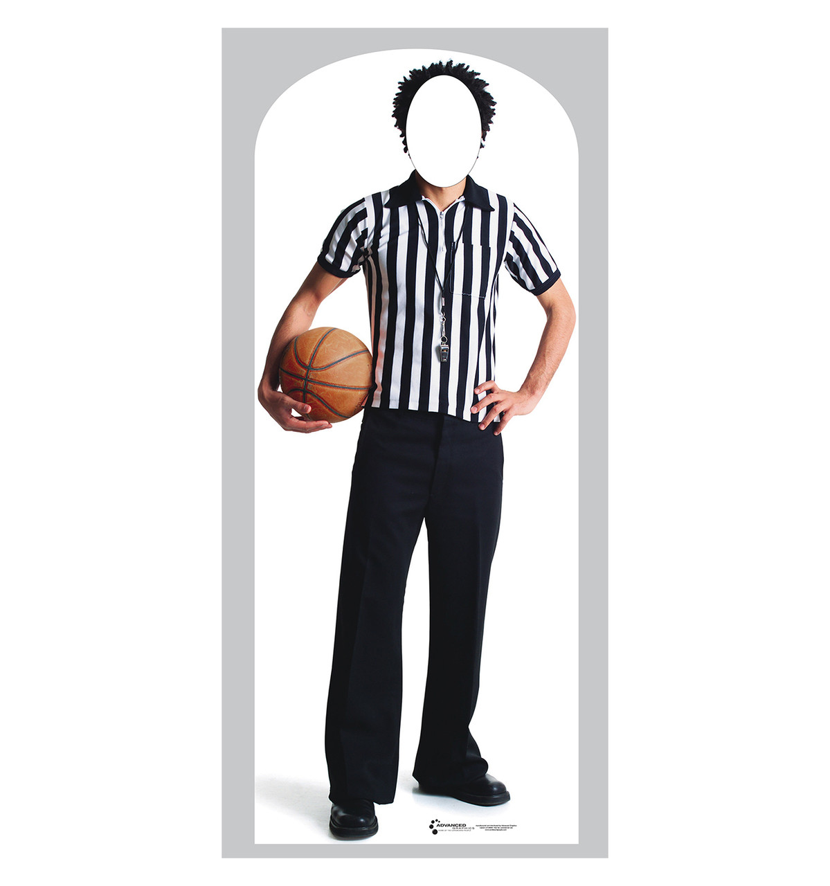 Life-size Referee Stand-In Cardboard Standup | Cardboard Cutout